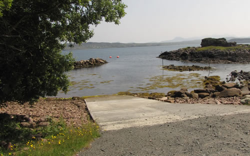 Cove Slipway access at any tide